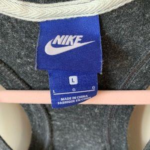 Nike Pants - Nike jersey dark grey jersey racerback romper #525